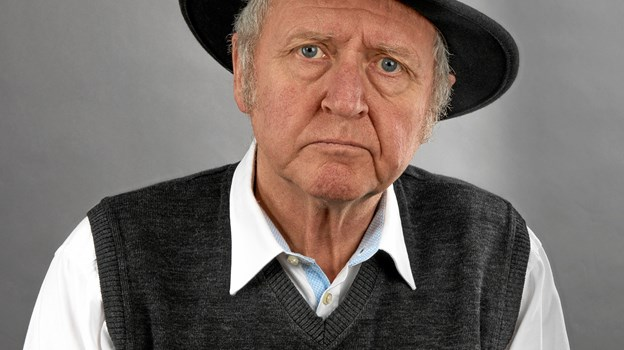 Forfatter Knud Simonsen gæster Brønderslev. Privatfoto