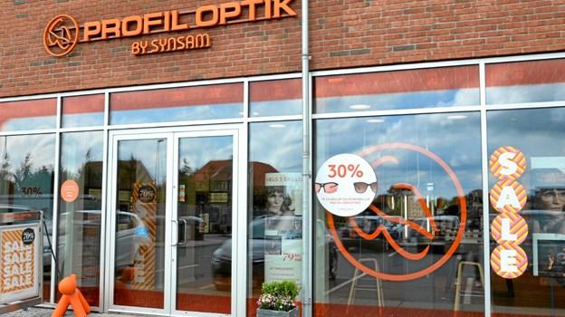 Profil Optik i Støvring har hjemme på Støvring Bytorv 3. Foto: Jesper Bøss Jesper Bøss