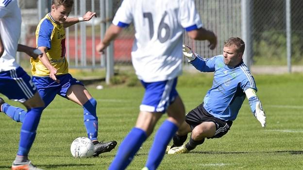 Jesper Christiansen har gennem mange sæsoner vogtet målet for Birkelse IF. Nu skal han stå i spidsen for holdet. Arkivfoto: Henrik Bo
