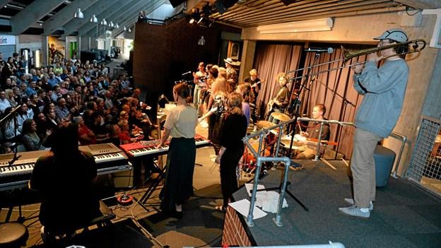 150 tilhørere havde indfundet sig til forårskoncerten. Privatfoto Foto: Allan Mortensen