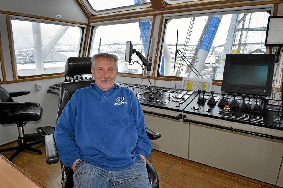 Fynboen Peter Nielsen har været skipper på hollandske Matador 3 de seneste 10 år. Foto: Ole Iversen Ole Iversen