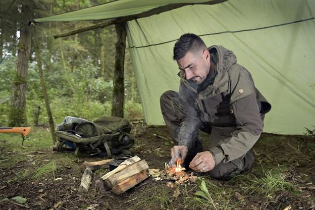 Jon Lindberg giver gode tips om at leve i vildmarken. Arkivfoto: Bente Poder