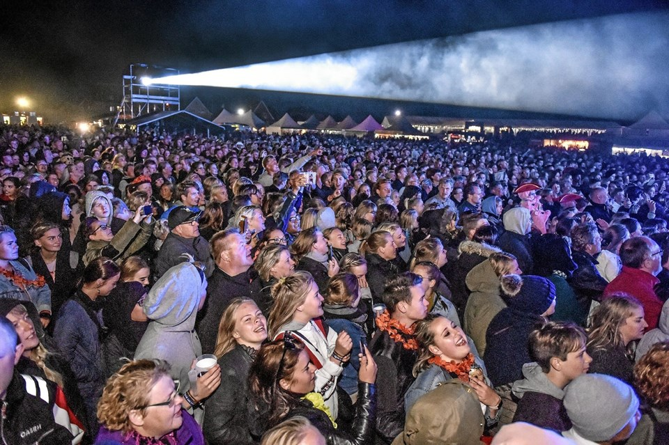 Over 10.000 glade mennesker til 2018 udgaven af Thy Rock giver et stort overskud til de foreninger der står bag Thy Rock. Arkivfoto fra 2018