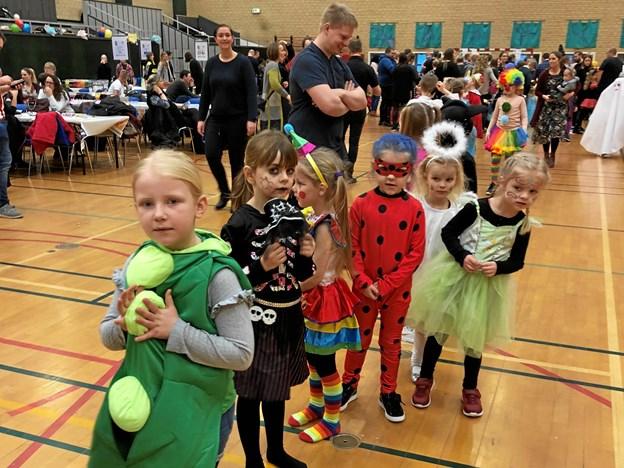 120 var til fastelavnsfest i Brønderslev Gymnastikforening. Privatfoto
