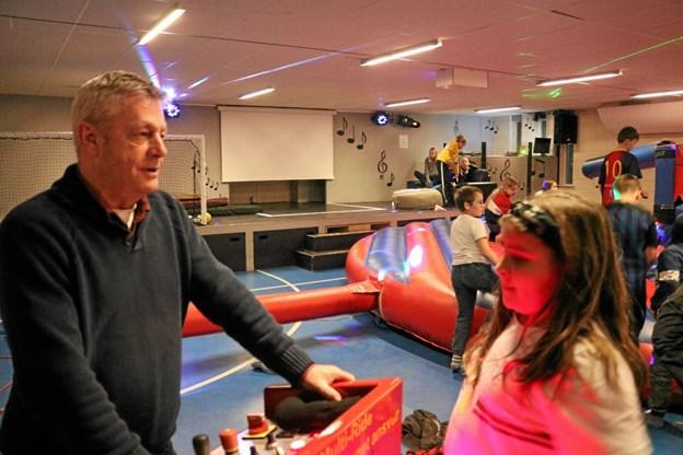 Brian Christoffersen er medet tilfreds med det flotte fremmøde af unge og håber,, at endnu flere har lyst til at fortsættei klubbens hverdagstilbud.