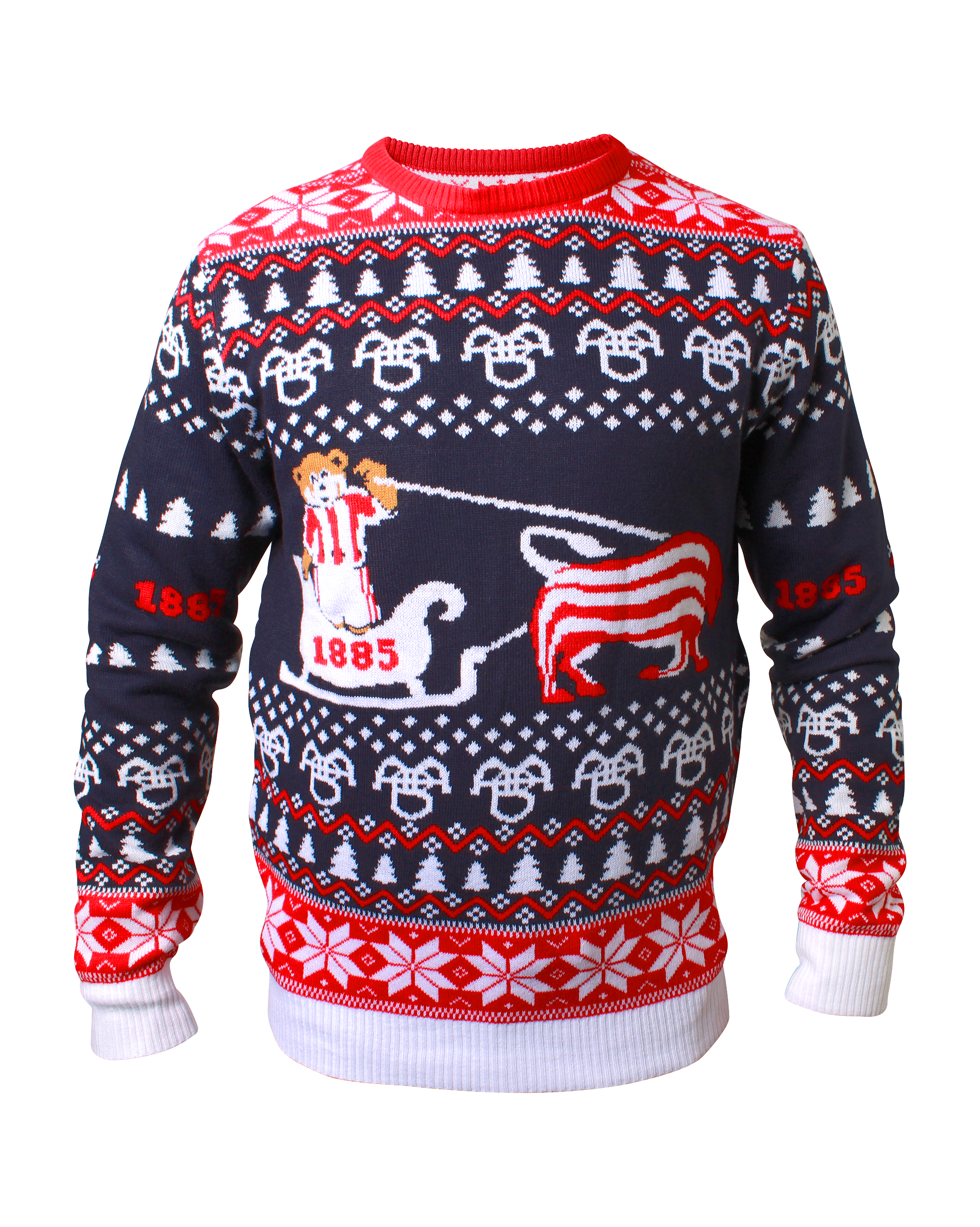 Den er tilbage: AaBs vamsede julesweater er et kæmpe hit