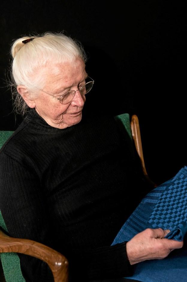 Mød væver Hanne Vedel i Hørhuset i Lønstrup. Foto: Privatfoto Privatfoto