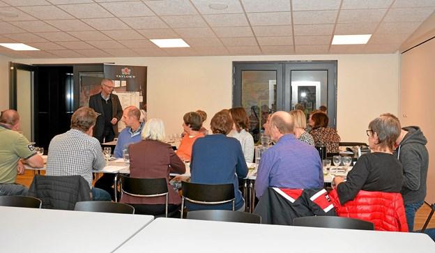 """Aftenen var et samarbejde mellem """"Det gode liv"""" of fru Jacobsen Løgstør. Foto: Mogens Lynge"""
