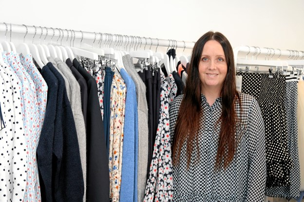 Karina Degn åbner ny butik på Aalborgvej. Foto: Flemming Dahl Jensen