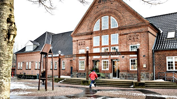 Brønderslev Bibliotek. Arkivfoto: Bent Bach