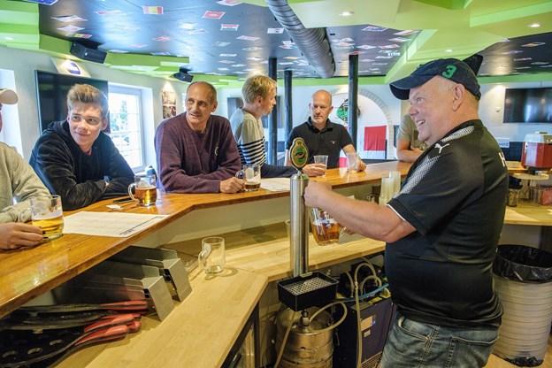 Michael Hardahl er én af idémændene til VM-caféen. Foto: Peter Broen