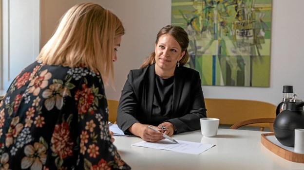 Louise Kassentoft Windfeld, oprindeligt fra Nors, bliver leder af Advokaterne Sankt Knuds Torv, landets største advokatkontor inden for familie- og arveret, som åbner nyt advokatkontor i Thy Huset 11. juni. Privatfoto