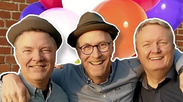 Til afslutningsfesten spiller det populære danseorkester Balloon til fordel for Knæk Cancer. Foto: privat