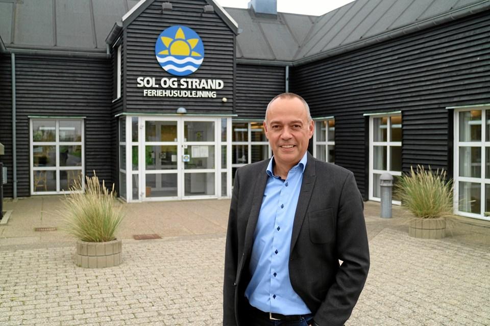 Per Dam bliver rny direktør i Sol og Strand. Pressefoto