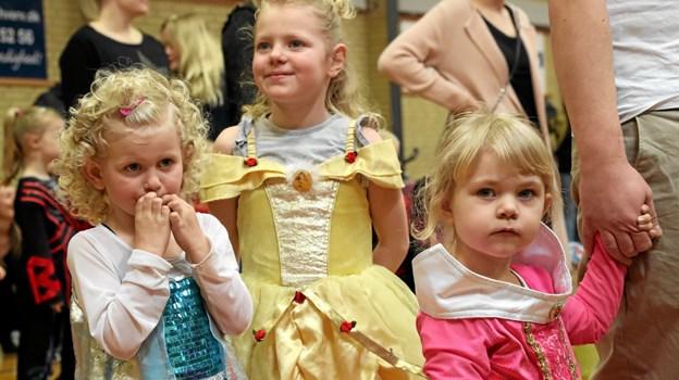 Prinsesser var der mange af - den forgangne søndag i Vester Hassing Hallen. Foto: Allan Mortensen Allan Mortensen