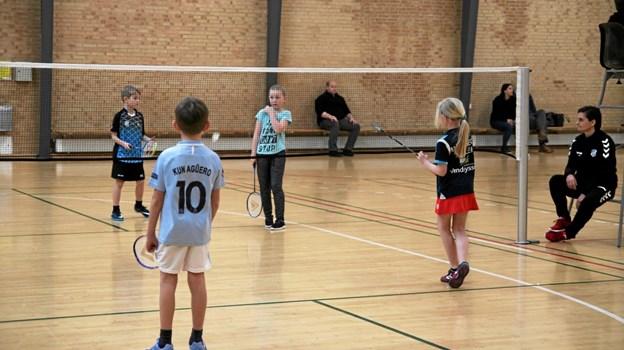 De yngste årgange var U9. Foto: Flemming Dahl Jensen Flemming Dahl Jensen