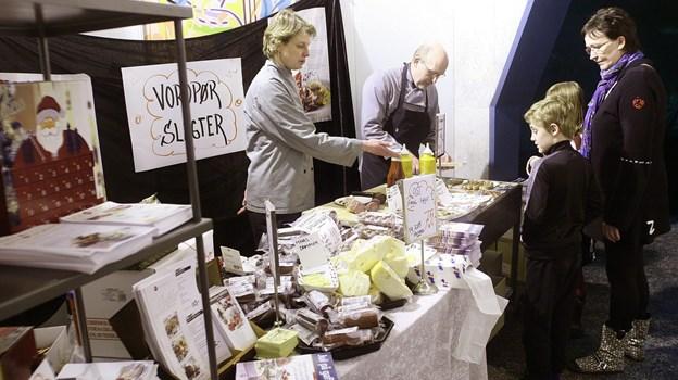 Vorupør Slagter er igen i år klar med smagsprøver. Arkivfoto: Diana Holm Diana Holm