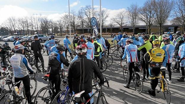 Forår og sæsonstarten i cykelklubben nærmer sig. Lørdag 23. marts klokken 13 går starten på en ny sæson på to hjul. Foto: Tommy Thomsen