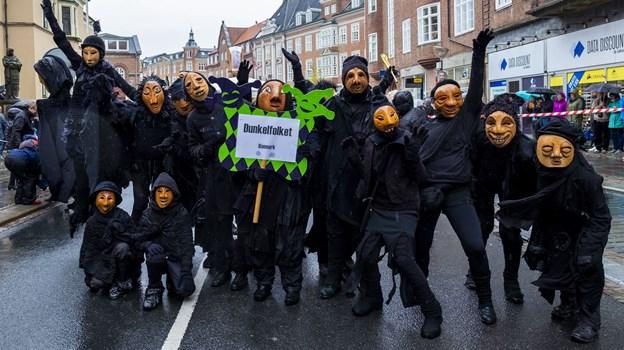 Intet karneval uden Dunkelfolket. Foto: Lasse Sand