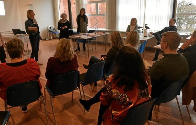 Tirsdag den 5. marts sad 20 frederikshavnske lærere bænket i Skagen Kultur- og fritidscenter og blev af instruktøren Gitte Lauridsen grundig instrueret i, hvordan man kan styrke elevernes sociale kompetencer, robusthed og etiske værdier. Privatfoto