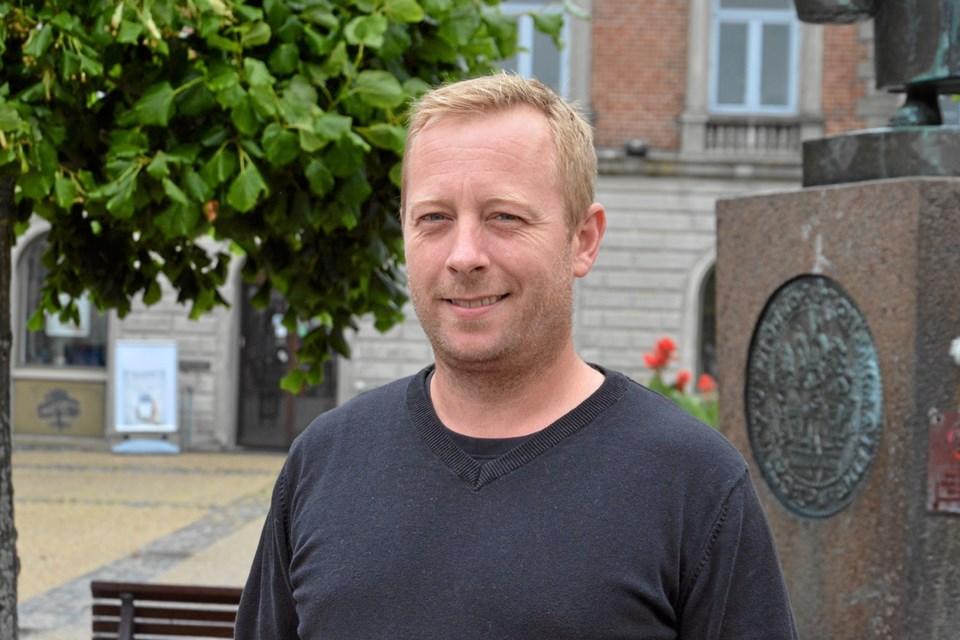 """Torben er 40 år og har tidligere stået i spidsen for natklubben """"Trykkeriet"""" i Hobro. Foto: Jesper Bøss Jesper Bøss"""