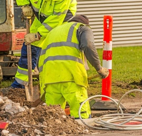 148 husstande i Mariagerfjord Kommune kan i det kommende år se frem til at få etableret bredbåndsforbindelser - med hurtigere internethastigheder til følge. Privatfoto