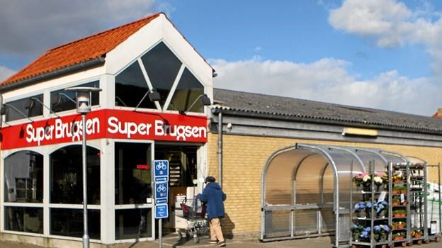 22. juli skal en ekstraordinær generalforsamling afgøre Superbrugsens fremtid i Hals. Foto: Allan Mortensen