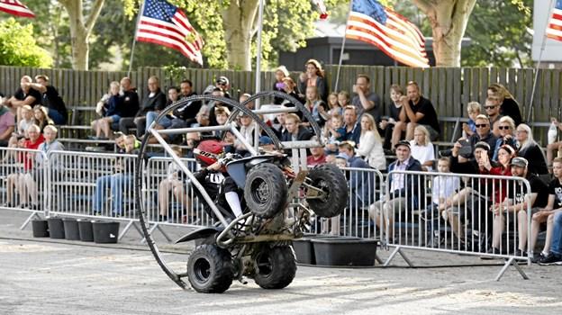 Publikum i alle aldre var begejstrede Foto: Michael Madsen Michael Madsen