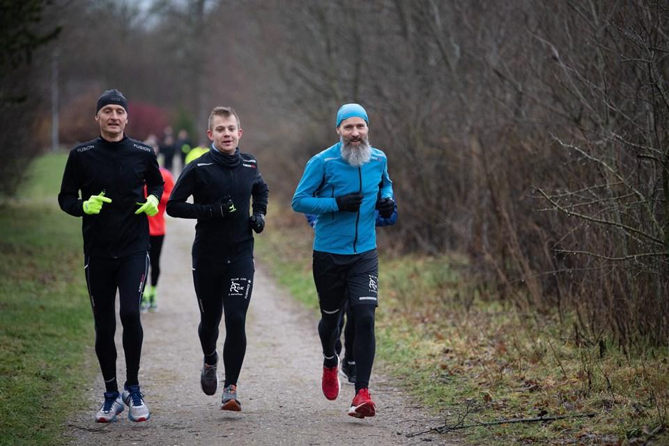 Lørdag blev der løbet den 9. udgave af det årlige Valentinsløb i HjallerupFoto: Hans Ravn HANS RAVN