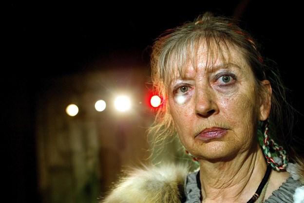 Bente Helen Szabo spillede troldkvinden Svava i 2004-udgaven af Mandebod. Arkivfoto: Torben Hansen
