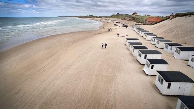 Løkken Strand er blandt de 18 stærke feriesteder, der fremhæves i udviklingsplanen. Arkivfoto: Torben Hansen