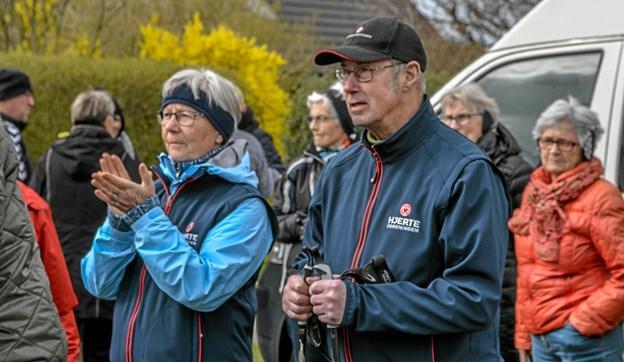 Den nye hjertesti er et samarbejde mellem Hjerteforeningen i Vesthimmerland og Raunstrup Borgerforening. Foto: Mogens Lynge Mogens Lynge