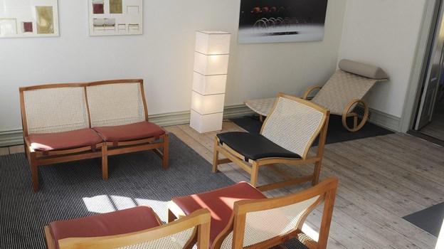I Adelgade 26 i Rud Thygesen Arkiv for Moderne Møbelarkitektur og Design kan du blandt andet se disse møbler. Arkivet holder kun åbent efter forudgående aftale.         Arkivfoto: Michael Bygballe