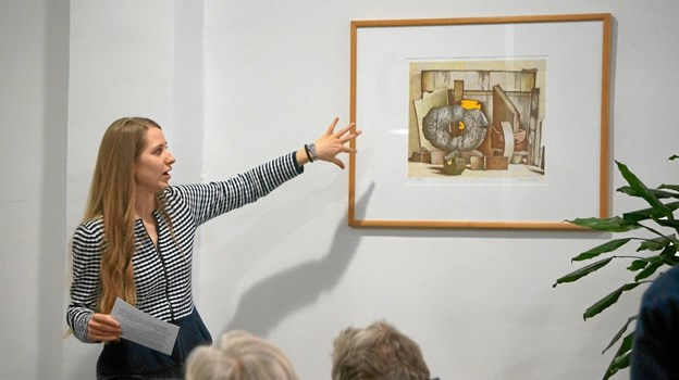 Maja Barsøe fortæller om Poul Winthers litografier.