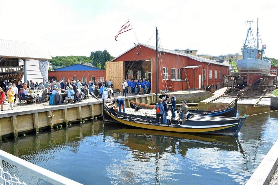"""Der holdes """"åbent værft"""" på lørdag i Hobro ved Maritimt Kulturcenter. Privatfoto"""