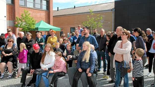 Publikum mødte talstærkt op for at følge Chilli smagningen. Foto: Flemming Dahl Jensen
