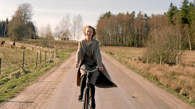 Den unge Astrid Lindgren kan opleves i Pandrup Kino. Pressefoto