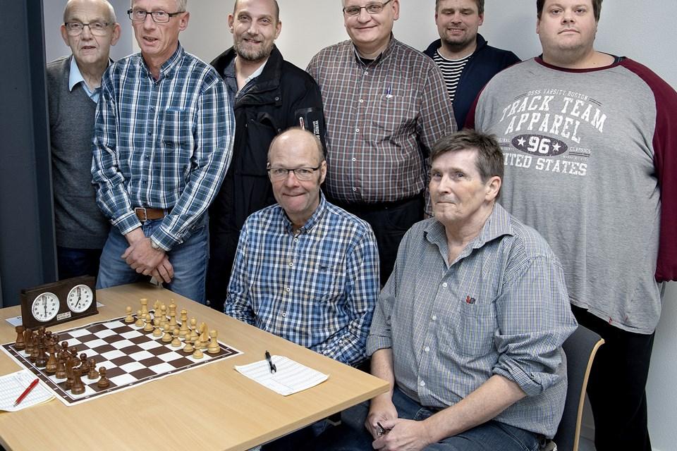 Morsø Skakklub har masser af kampånd. Arkivfoto: Lars Pauli.