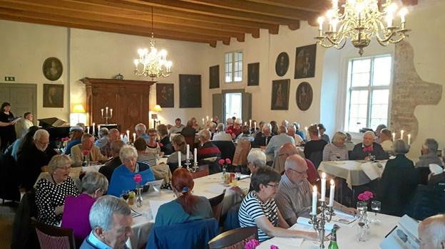 Sankthansarrangementet indledes i Riddersalen