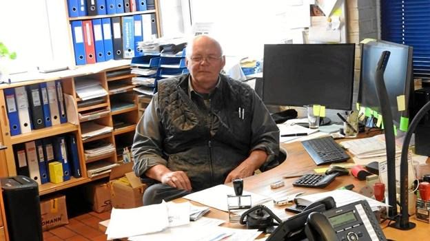 Indehaver Uffe Nielsen. Foto: Jens Brændgaard