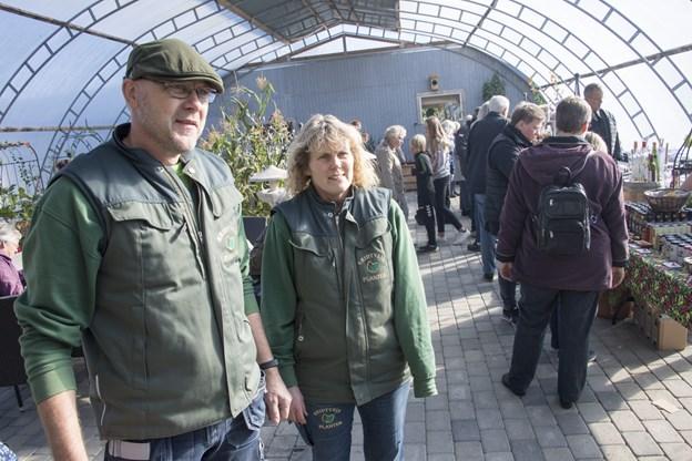 Britt og Jens Heltborg har forårstravlt i god tid i år. Arkivfoto: Kurt Bering. $ID/NormalParagraphStyle:
