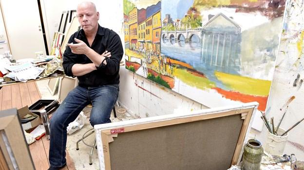 Steen Karlsen vil nu skabe endnu flere musikalske penselsstrøg. Arkivfoto Henrik Louis