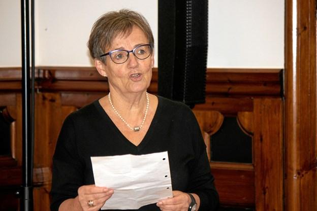 Præsident for Lions Vesterhavsfruerne, Anny Holm Troelsen. Foto: Flemming Dahl Jensen Flemming Dahl Jensen