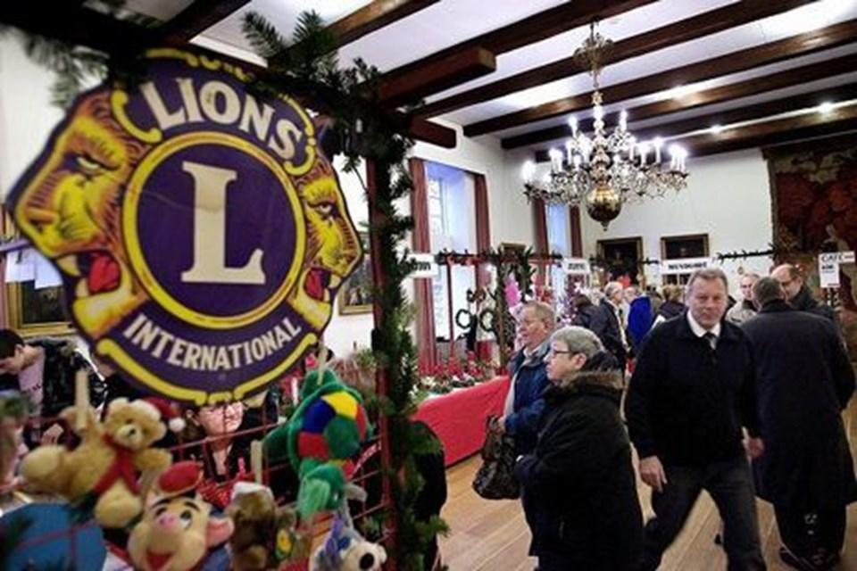 Denne weekend har Lions Club for 42. gang julemarked på Slottet.foto: Lars pauli