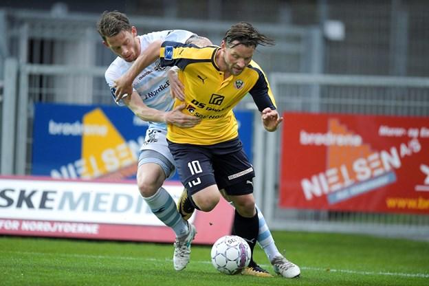 Foto Lars PauliHobro IK møder FC Helsingør i Alka Superligaens gruppespil.Foto Lars Pauli / Nordjyske Medier