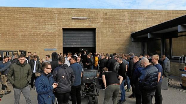 Martec holdt forleden åbent hus i hovedkvarteret på Hånbækvej i Frederikshavn. Nu udvider skolen med en afdeling i Aalborg. Foto: Martec