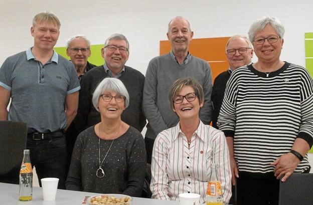 Her er de glade modtagere…Foto: Arne Larsen-Ledet