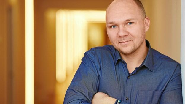 Entreprisechef Jesper Primdahl glæder sig over den store ordre til Thy-Mors Energi. PR-foto. Bertel Bolt