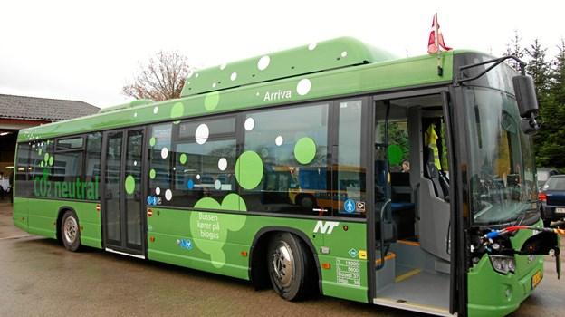 Der skal være biogas i regionalbusserne