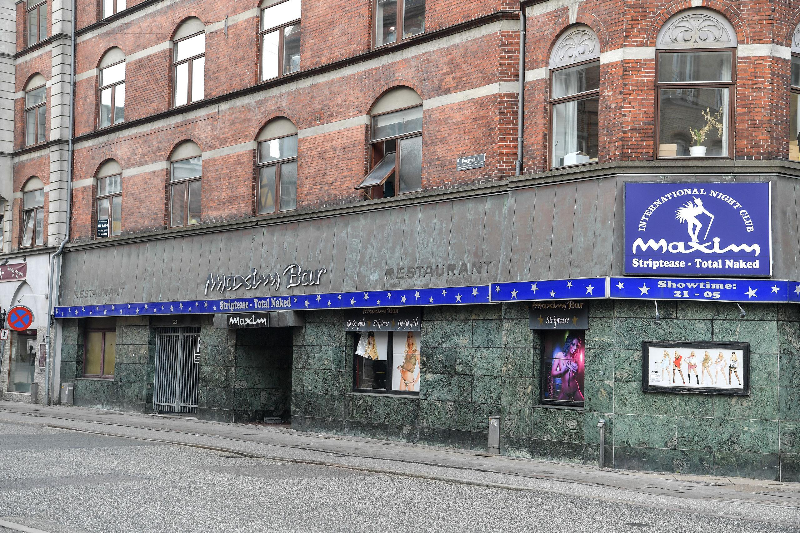 Maxim Bar i Borgergade 2 i Aalborgs centrum eksisterer ikke længere, og der går en rum tid endnu, før transformeringen til cocktailbar er gennemført. Arkivfoto: Claus Søndberg